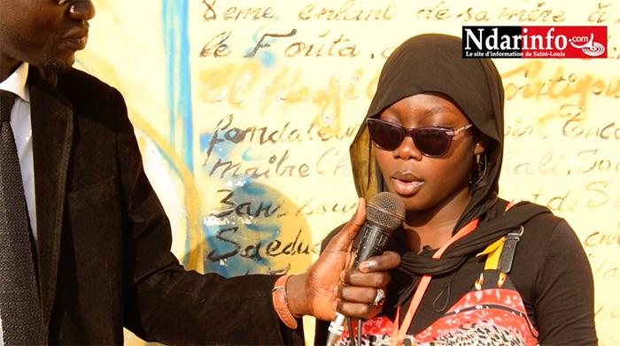 PORTRAIT : Ndèye Fatou Fall, élève au LCOFT, la plus jeune écrivaine du Sénégal.