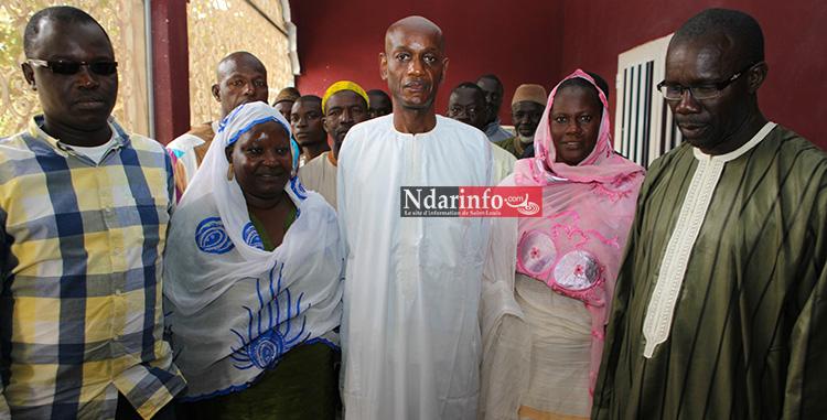 Le coordonnateur du Mouvemnt AM JAM avec d'anciens responsables du Grand Parti à GuetNdar.