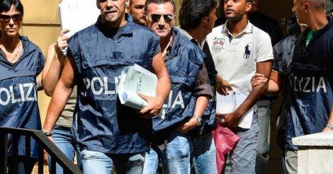 """Italie : Une """"mafia"""" sénégalaise démantelée,16 personnes arrêtées"""