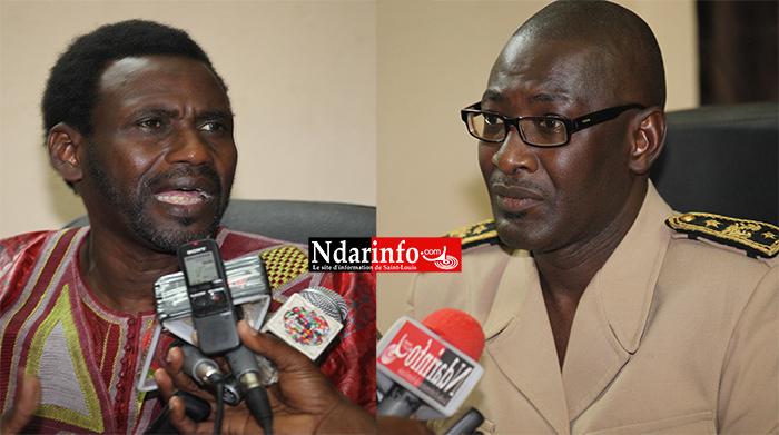 VIDÉO   CRISE FONCIÈRE A MBANE : le Maire Sadio Demba SOW et le Sous - Préfet Oumar DIA s'expliquent.