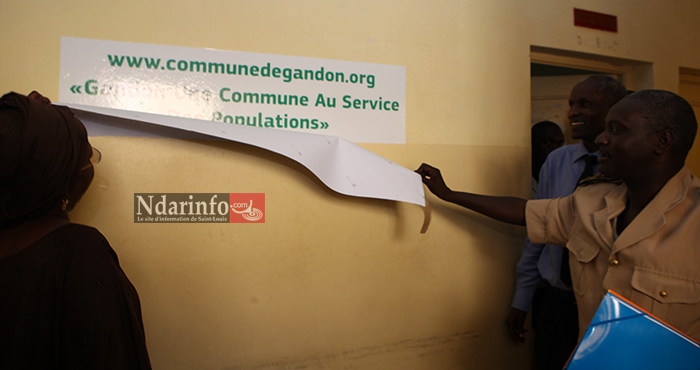INNOVATION TECHNOLOGIQUE : la Commune de GANDON lance son site Internet.