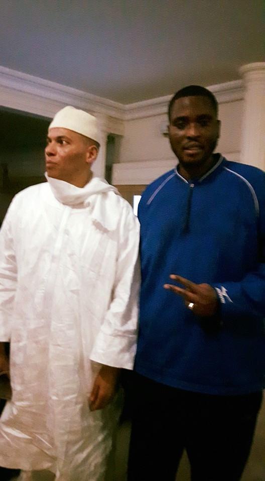 ( Photos) Les premières images de Karim WADE après sa libération.