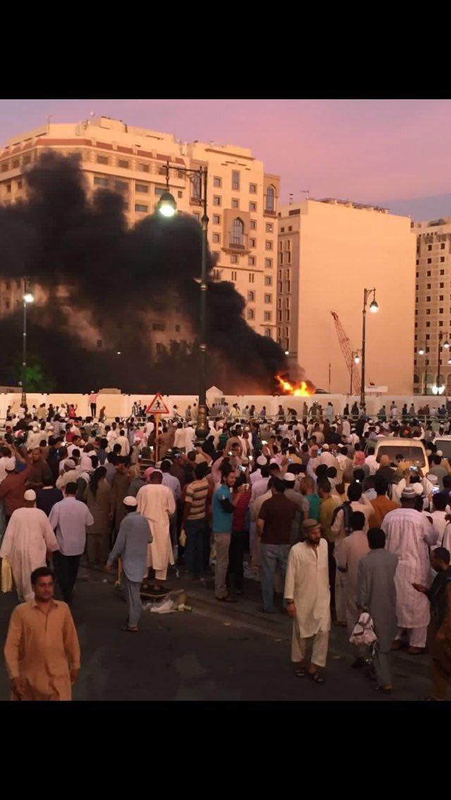 Deux attentats près de la mosquée du Prophète et du bureau des forces de sécurité à Médine (vidéo)