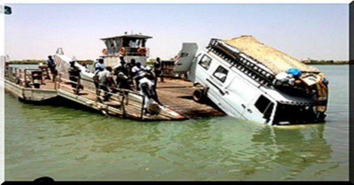 URGENT : Rosso Sénégal, un bus termine sa course dans le fleuve, plusieurs morts..