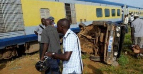 THIES:  Il voulait se suicider sous le train