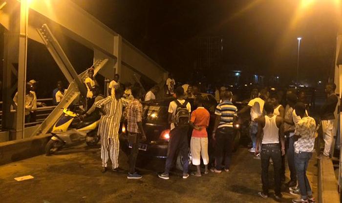 ACCIDENT SUR LE PONT FAIDHERBE : Ce véhicule a frôlé le pire (photos)