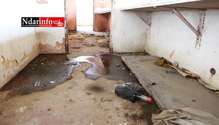 (Vidéo et Photos) La situation catastrophique du stade Me Babacar SEYE.