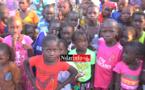 Des élèves du village de l'école élemeentaire de Keur Barba