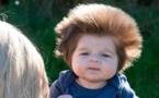 La chevelure de ce bébé affole la toile