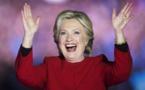 Trois pourcents d'avance pour Clinton selon un dernier sondage