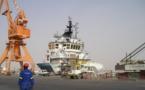 Mauritanie: Construction d'un port militaire et commercial en face de Saint-Louis.