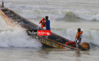 Saint-Louis : 4 pêcheurs disparus après le chavirement d'une pirogue sur l'embouchure.
