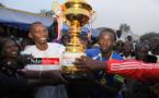 Parrain de la Zone 5: Mansour NDIAYE fait vibrer le WALO. Regardez !