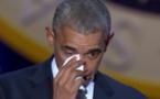 Barack Obama Fond en Larmes en hommage à sa Femme et sa Fille