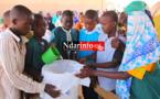 Démonstration publique d'écoliers de Ndoye DIAGNE sur la purification de l'eau