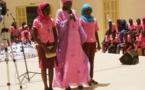 Don de serviettes hygiéniques aux élèves du lycée Ameth Fall de Saint-Louis