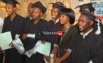 UGB : cérémonie de graduation des titulaires de master de l'UFR LSH, ce 14 avril 2017.