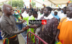 Remise d'appuis aux pêcheurs : l'allocution de Mansour FAYE sur la Place Faidherbe (vidéo)