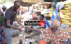 """Marché Tendjiguène : le poulet maigre et cher, les """" bagages"""" du «  Ngalakh », très coûteux (vidéo)"""