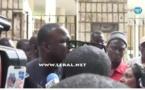 Vidéo : Altercation entre Dethié Fall et un policer devant l'Assemblée nationale