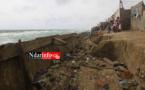 ALERTE - Terreur à Ndar Toute : le mur de protection va s'écrouler (vidéo)