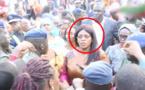 Marième Faye Sall échappe à la foule surexcitée grâce aux forces de l'ordre