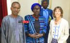 Lutte contre les mariages d'enfants : L'ambassadrice du Canada salue « le travail de qualité » du Gestes de l'Ugb (vidéo)