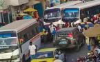 Dernière minute : choc entre deux bus Tata sur l'avenue Général De Gaulle