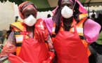 """Remise d'équipements et de financements : les """"Sanglots des Sirènes"""" de Moumbaye se transforment en éclats de rire (vidéo)"""
