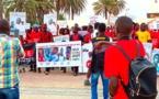 Mort de Fallou Séne et cie: La radho et LSDH ont entamé une marche sur l'impunité des policiers