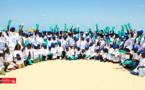 Éducation environnementale : les enfants du personnel de DP WORLD nettoient la plage de l'hydrobase (vidéo)