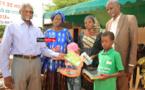 Matérialisation du concept « UBI TEY JANG TEY » : les Grands Domaines du Sénégal ont remis des fournitures scolaires à 3000 élèves de Gandon