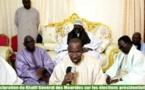 Présidentielle 2019 : La déclaration du khalife des mourides (vidéo)