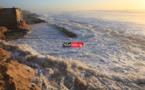 """Les côtes sénégalaises encore sous la menace d'une """"houle dangereuse''"""