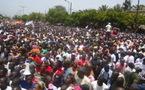 Alimentation en eau potable: Marche pacifique à Gandon