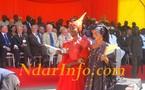 [PHOTOS] Les Signares défilent devant le Président Wade à l'inauguration du Pont Faidherbe
