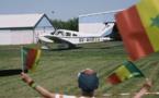 Saint-Louis - Paris à bord d'un minuscule avion