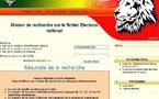Découverte: Le fichier électoral n'est pas disponible sur elections.sn