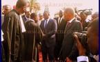 Flah info: (Vidéo) Arrivée de Macky Sall au Méridien président avec les 5 sages du conseil constitutionnel.