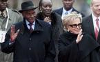 (VIDEO) Le couple présidentiel raccompagne Abdoulaye Wade et son épouse.