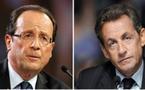 FRANCE : Nicolas Sarkozy et François Hollande s'affronteront au second tour