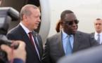 Tournée africaine : Erdogan en escale à Dakar