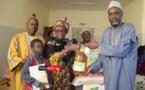 Coronavirus – Centre Olivier Grouès : des kits d'hygiène et des denrées alimentaires remis aux sourds-muets (vidéo)