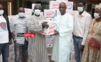 """GUERRE CONTRE LE CORONAVIRUS : Les commerçants de NDAR TOUTE remettent des """"armes"""" à Mansour FAYE (vidéo)"""
