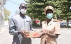 Prévention du Coronavirus à Saint-Louis : une contribution du ministère du Développement communautaire remise à l'administration territoriale (vidéo)