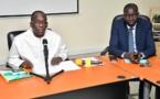 Aloyse DIOUF quitte le ministère de la santé