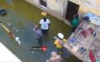 """Inondations à Médina Courses : Mansour FAYE constate """"une situation très difficile"""" (vidéo)"""