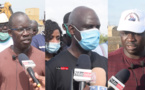LUTTE CONTRE LES INONDATIONS : Alioune Badara DIOP offre une motopompe 400 m3/heure. Mansour FAYE salue la mobilisation générale (vidéo)