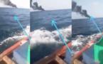 Naufrage des jeunes migrants Saint-Louisiens : un pêcheur a filmé l'incendie ...