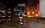 Saint-Louis - Incendie: Trois maisons touchées au quartier Sindoné, hier.